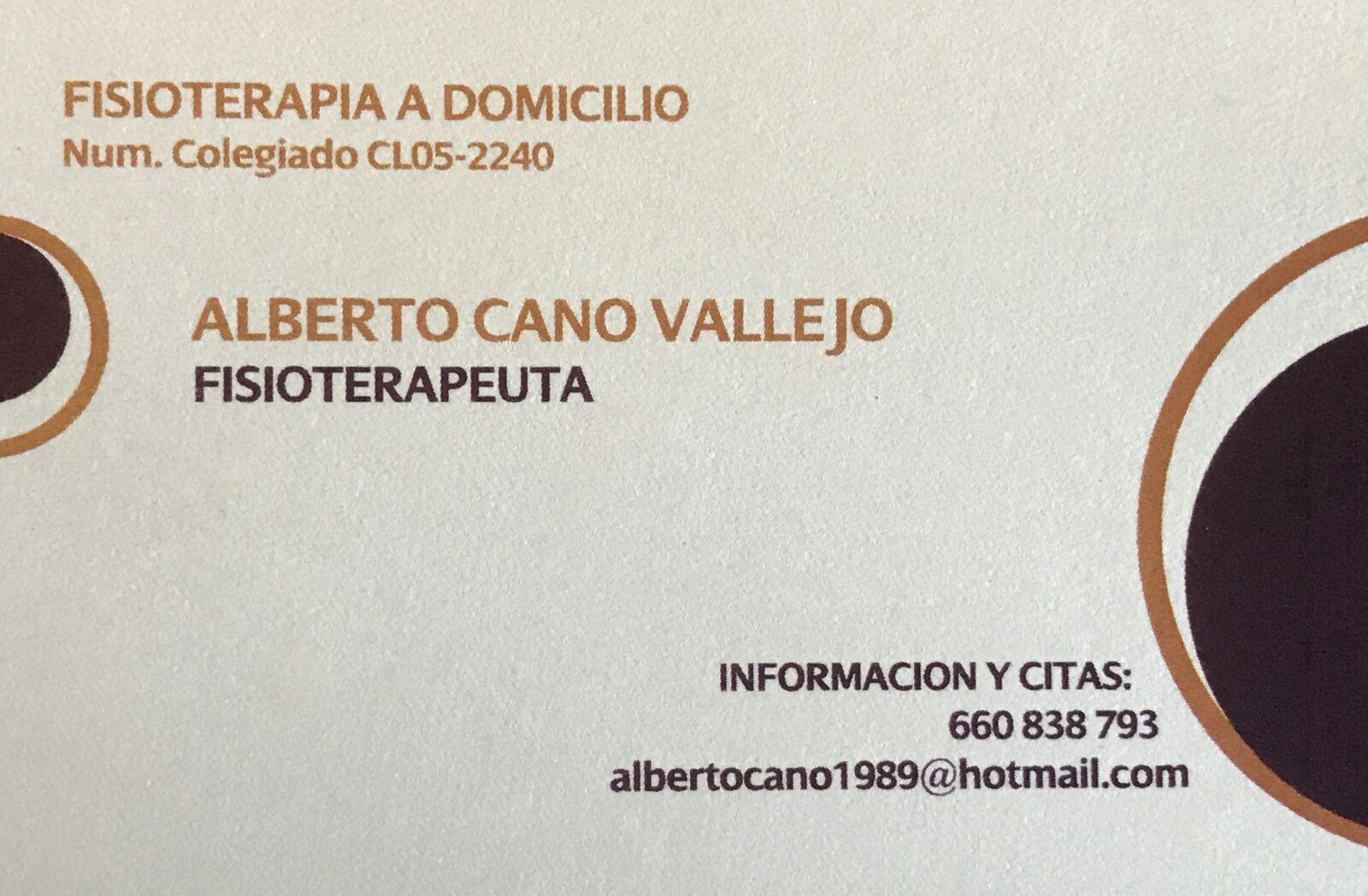 Alberto Cano Vallejo